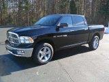 2012 Black Dodge Ram 1500 Big Horn Crew Cab #57217411
