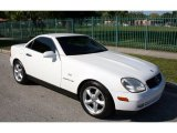 1998 Mercedes-Benz SLK Polar White