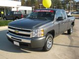 2011 Taupe Gray Metallic Chevrolet Silverado 1500 LS Extended Cab #57271913