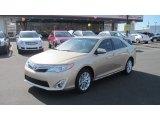 2012 Sandy Beach Metallic Toyota Camry XLE V6 #57271855
