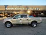 2012 Pale Adobe Metallic Ford F150 XLT SuperCrew 4x4 #57271831