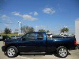 Dark Blue Metallic Chevrolet Silverado 1500 in 2008