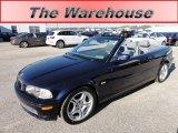 2002 Orient Blue Metallic BMW 3 Series 330i Convertible #57271418