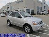 2009 Bright Silver Kia Sorento LX 4x4 #57271415