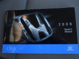 2009 Honda CR-V LX Books/Manuals