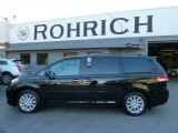 2011 Black Toyota Sienna Limited AWD #57272178