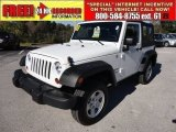 2011 Bright White Jeep Wrangler Sport 4x4 #57272144