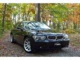 2003 Black Sapphire Metallic BMW 7 Series 745i Sedan #57272128