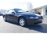 2001 Black Ford Mustang V6 Convertible #57271686