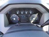 2012 Ford F250 Super Duty XL Regular Cab 4x4 Gauges