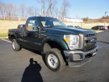 Forest Green Metallic Ford F250 Super Duty in 2012