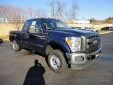 2012 Ford F250 Super Duty Dark Blue Pearl Metallic