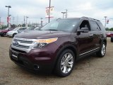 2011 Bordeaux Reserve Red Metallic Ford Explorer XLT #57271235