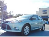 2012 Frosted Glass Metallic Ford Focus SE 5-Door #57271631