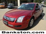 2008 Redfire Metallic Ford Fusion S #57271197
