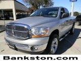 2006 Bright Silver Metallic Dodge Ram 1500 SLT Quad Cab #57271176