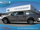 2012 Pale Adobe Metallic Ford F150 XLT SuperCrew 4x4 #57271566