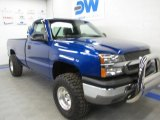 2003 Arrival Blue Metallic Chevrolet Silverado 1500 LS Regular Cab 4x4 #57271972