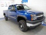 2003 Arrival Blue Metallic Chevrolet Silverado 2500HD LS Extended Cab 4x4 #57271969