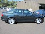 2010 Atlantis Green Metallic Ford Fusion SE #57355756