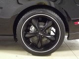 2012 Ford Mustang GT Coupe Custom Wheels