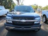 2005 Dark Blue Metallic Chevrolet Silverado 1500 Z71 Crew Cab 4x4 #57355737