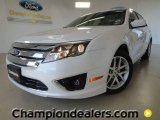 2011 White Platinum Tri-Coat Ford Fusion SEL V6 #57354882