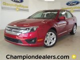 2011 Red Candy Metallic Ford Fusion SE #57354880