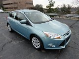 2012 Frosted Glass Metallic Ford Focus SE 5-Door #57355297