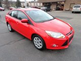 2012 Race Red Ford Focus SE Sedan #57355291