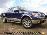 2011 Dark Blue Pearl Metallic Ford F150 King Ranch SuperCrew #57354864