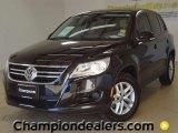 2011 Deep Black Metallic Volkswagen Tiguan S #57355263