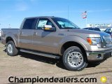 2011 Pale Adobe Metallic Ford F150 Lariat SuperCrew 4x4 #57354832