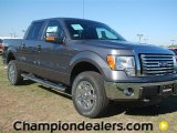 2011 Sterling Grey Metallic Ford F150 XLT SuperCrew 4x4 #57354824