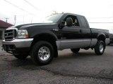 2003 Black Ford F250 Super Duty XLT SuperCab 4x4 #57355671