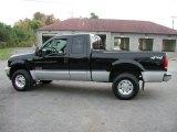 2003 Ford F250 Super Duty Black
