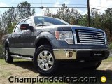 2011 Sterling Grey Metallic Ford F150 XLT SuperCrew 4x4 #57354820