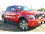 2011 Race Red Ford F150 FX4 SuperCrew 4x4 #57354818