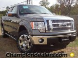 2011 Sterling Grey Metallic Ford F150 Lariat SuperCrew 4x4 #57354805