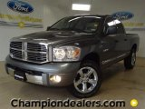 2008 Mineral Gray Metallic Dodge Ram 1500 Laramie Quad Cab 4x4 #57355212