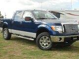 2011 Dark Blue Pearl Metallic Ford F150 XLT SuperCrew 4x4 #57354794