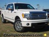 2011 White Platinum Metallic Tri-Coat Ford F150 Platinum SuperCrew 4x4 #57354792