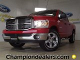 2008 Inferno Red Crystal Pearl Dodge Ram 1500 Lone Star Edition Quad Cab #57355205