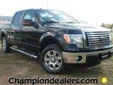 2011 Ebony Black Ford F150 XLT SuperCrew #57354787