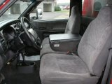 2000 Dodge Ram 3500 SLT Regular Cab 4x4 Commercial Agate Interior