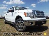 2011 Oxford White Ford F150 Lariat SuperCrew 4x4 #57354769