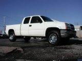 2005 Summit White Chevrolet Silverado 1500 LS Extended Cab 4x4 #57355645