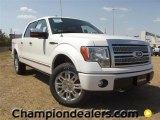 2011 White Platinum Metallic Tri-Coat Ford F150 Platinum SuperCrew 4x4 #57354768