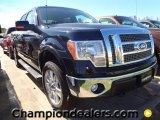 2011 Ebony Black Ford F150 Lariat SuperCrew 4x4 #57354767
