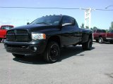 2004 Black Dodge Ram 3500 SLT Quad Cab 4x4 Dually #57355644